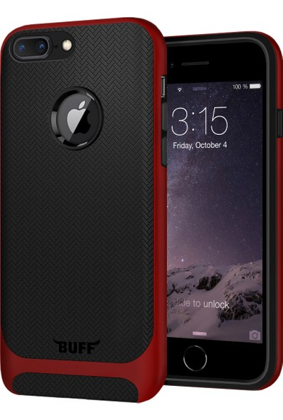 Buff iPhone 7 Plus New Armor Kılıf Red