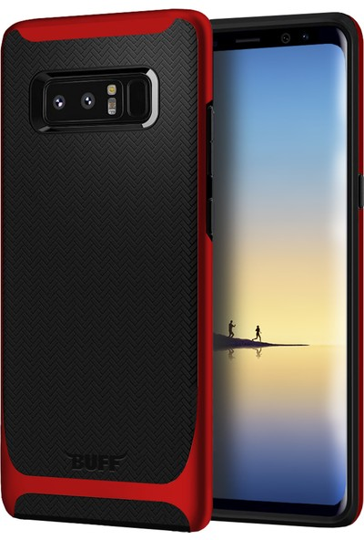 Buff Galaxy Note 8 New Armor Kılıf Red