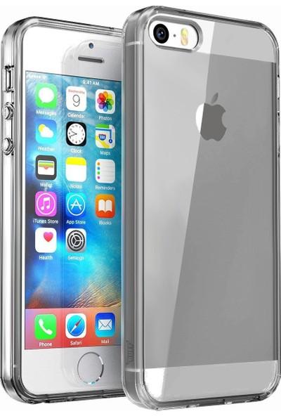 BUFF iPhone SE Air Hybrid Kılıf Smoke Black