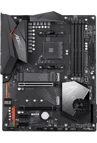Gigabyte X570 AORUS Elite AMD X570 4000MHz DDR4 Soket AM4 ATX Anakart