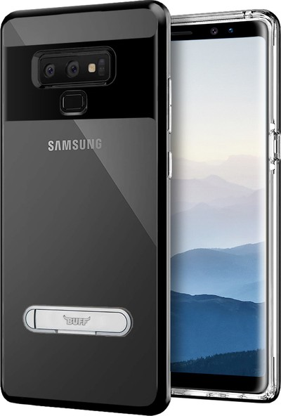 Buff Galaxy Note 9 Air Bumper Kılıf Black