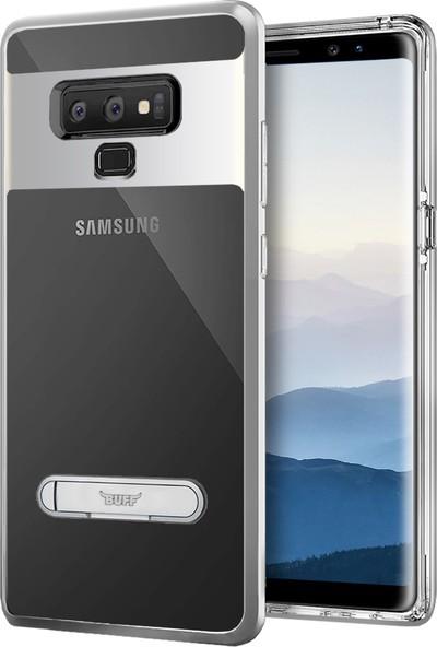 Buff Galaxy Note 9 Air Bumper Kılıf Silver