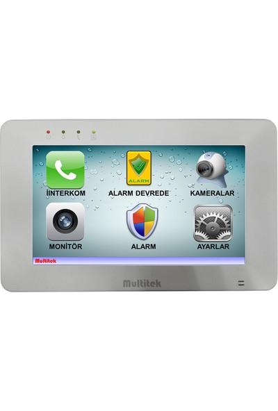 """Multitek Mbt-70 7"""" Dokunmatik Renkli Görüntülü Diafon"""