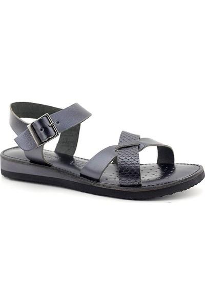 James Franco 152 Hakiki Deri Kadın Sandalet