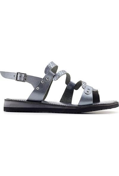 James Franco 84 Hakiki Deri Kadın Sandalet