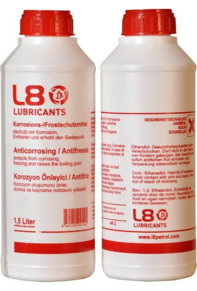 Powerten L8 Organik Kırmızı Antifiriz 1.5 Lt 2 Adet
