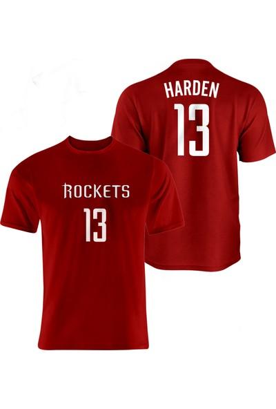 Nsj Sportive Houston Rockets James Harden Forma T-Shirt