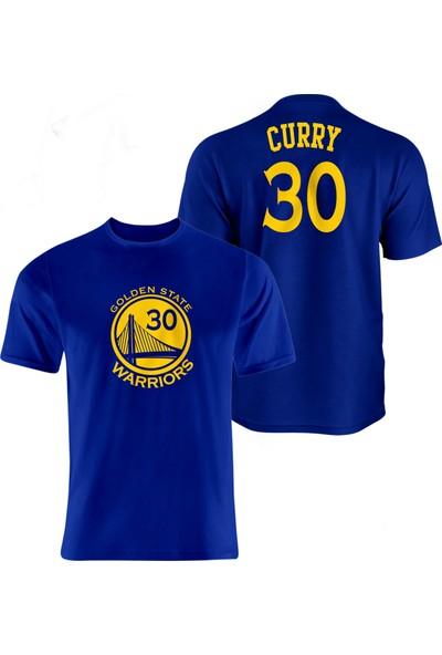 Nsj Sportive Golden State Warriors Stephen Curry Forma T-Shirt