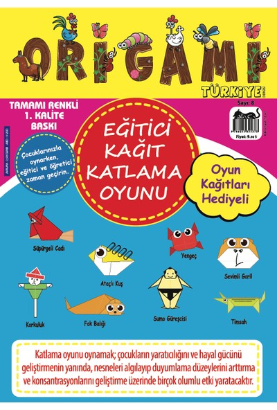 Origami Türkiye Dergisi Sayı: 8