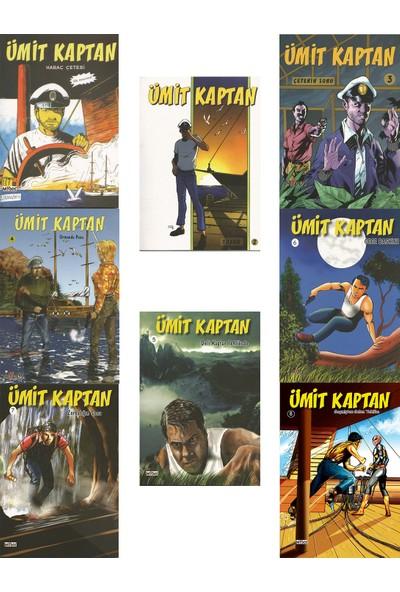 Ümit Kaptan Set - Hakan Karabey - 8 Çizgi Roman