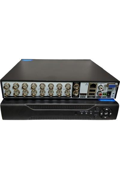 Elcam Ahd 16 Kanal Dvr Güvenlik Kamera Kayıt Cihazı Xmeye Yazılım Full Hd 1080