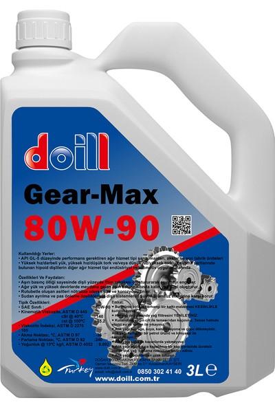 Doill 80W90 3 Litre Şanzıman - Deferansiyel - Mekanik Dişli Yağı Gl5