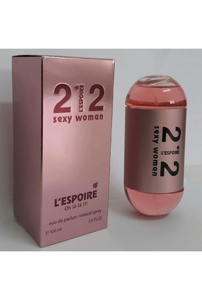 L'Espoire 212 Sexy Woman Edt 100 ml