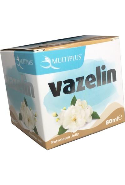 Multiplus Doğal Katı Renkli Vaniya Kokulu Pembe Vazelin 80 ml