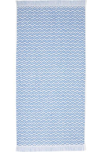 Maisonette Lord Havlu Alaska Blue 70 x 140 cm Tekli