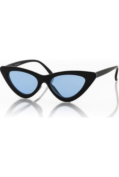 Max Polo Mp9007R008 Mavi Kadın Güneş Gözlüğü