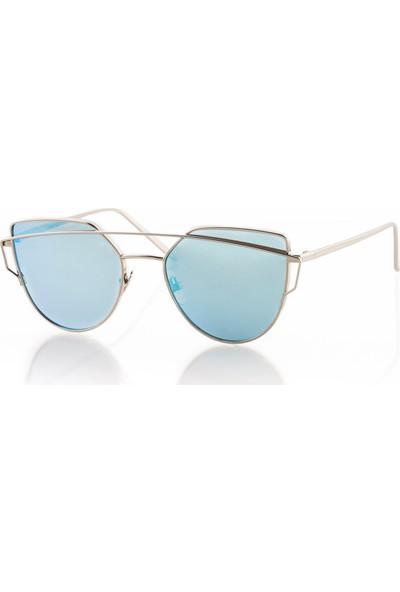 Max Polo Mp9013R021 Mavi Kadın Güneş Gözlüğü
