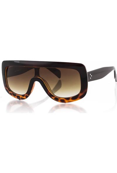 Silvio Monetti Sm19Sm8013R003 Kahverengi Kadın Güneş Gözlüğü