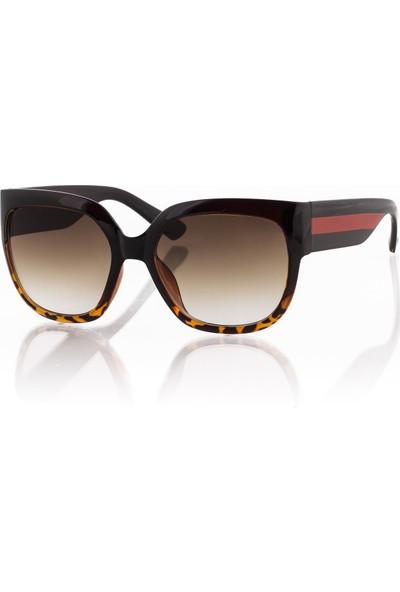 Silvio Monetti Sm19Sm8020R003 Kahverengi Kadın Güneş Gözlüğü
