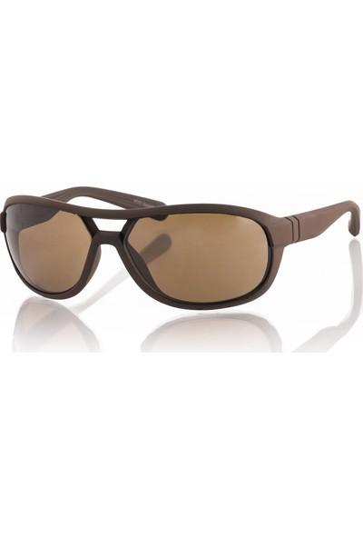 Silvio Monetti Sm19Sm849R002 Kahverengi Erkek Güneş Gözlüğü