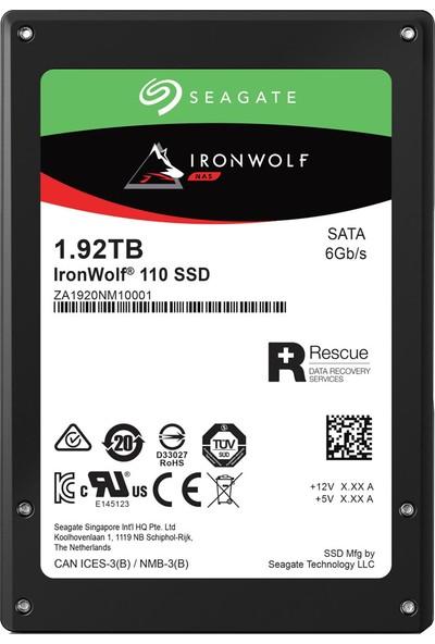 Seagate Ironwolf 110 1920GB 560MB-535MB/s Sata 3 SSD ZA1920NM10011