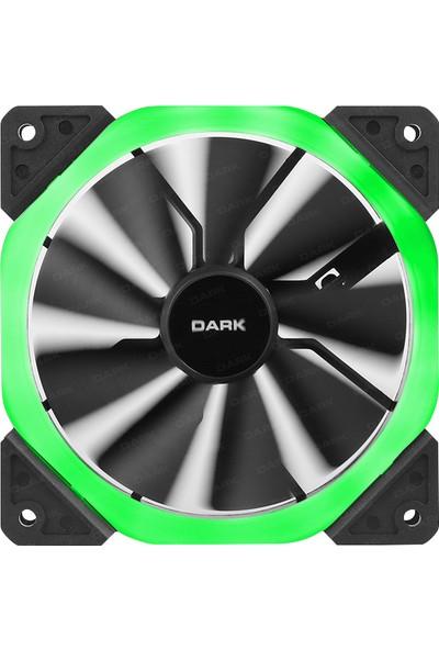 Dark 120mm Dual Ring RGB Fan (6Pin Bağlantı) DKCF122RGB