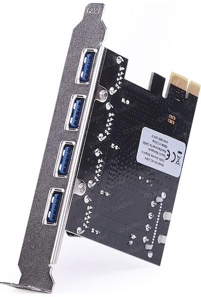 Dark 4 x USB 3.0 Portlu PCI Express x1 Kart (DK-AC-U3P4)