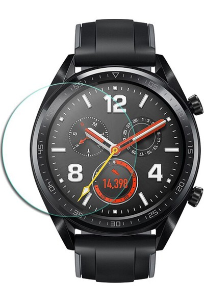 Microcase Huawei Watch GT Sport Tempered Glass Cam Koruma