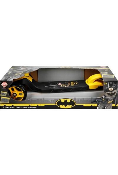 Sunman Batman 3 Tekerlekli Frenli Twistable Çocuk Scooter