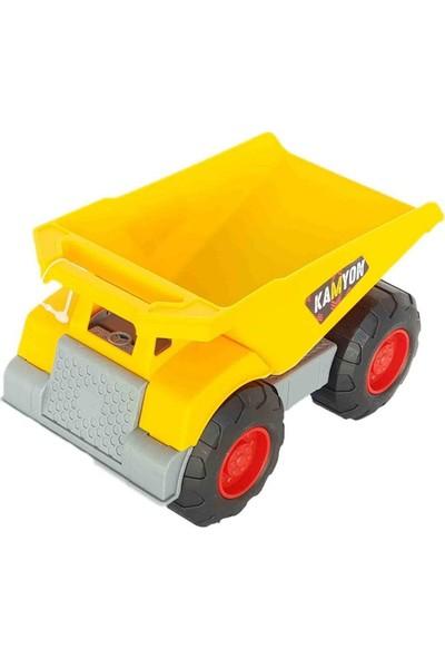 Oyuncak Kepçe Kamyon Erkek Çocuk Eğitici Araba