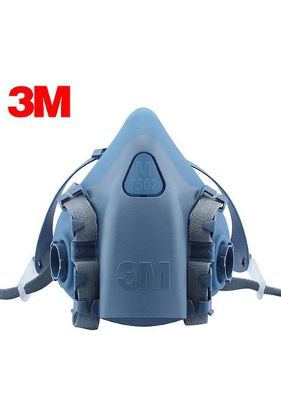 3m Yeniden Kullanılabilir Yarım Yüz Maskesi 7502 Orta Boy