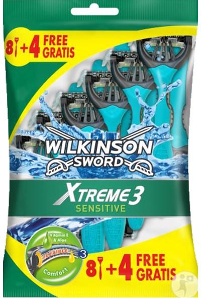Wilkinson Sword Xtreme 3 Sensitive 8+4