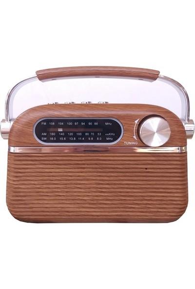 Mega 951 Bluetoothlu USB Girişli Fm Radyo
