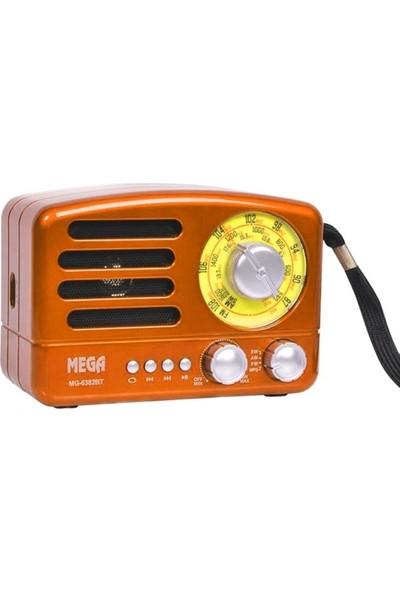 Mega MG-6382BT Bluetoothlu USB Girişli Fm Radyo