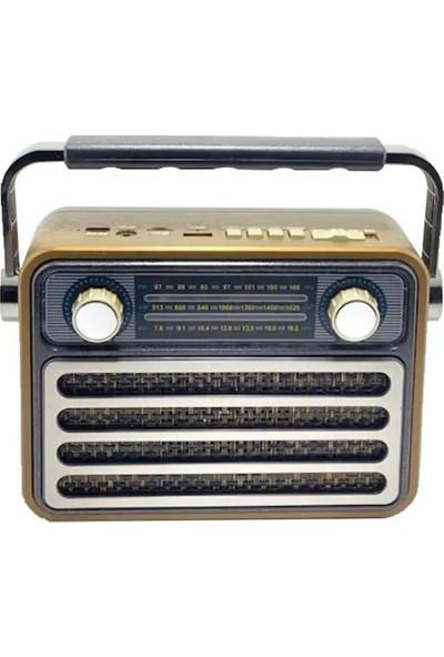 Mega MG-182 Bt Nostalji Bluetooth Radyo