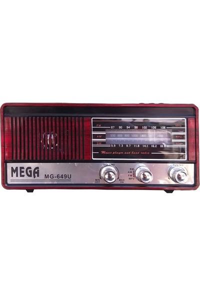 Mega Nostaljik Radyo Mega 649U Müzik Çalar