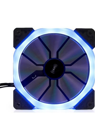 Dark 120mm Dual Ring Adressible RGB Fan (6Pin Bağlantı) (DKCF123ARGB )