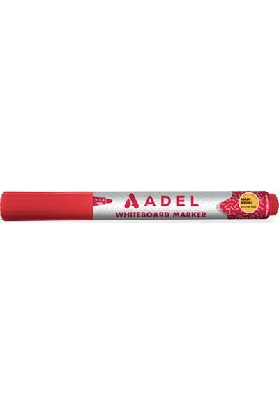 Adel Beyaz Tahta Kalemi Kırmızı 12'li Kutu