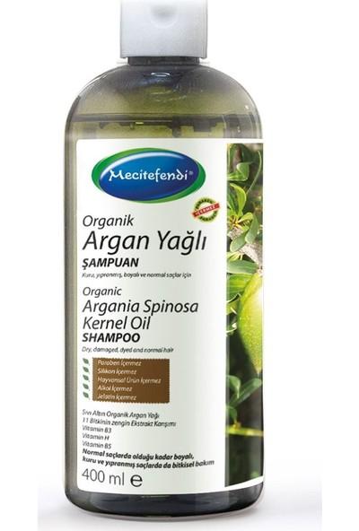 Mecitefendi Organik Argan Yağlı Şampuan 400 Ml