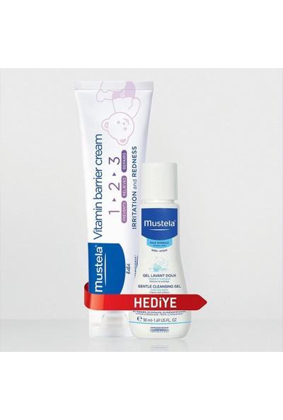 Mustela Vitamin Barrier Cream 1-2-3 + Dermo Cleansing 50 Ml
