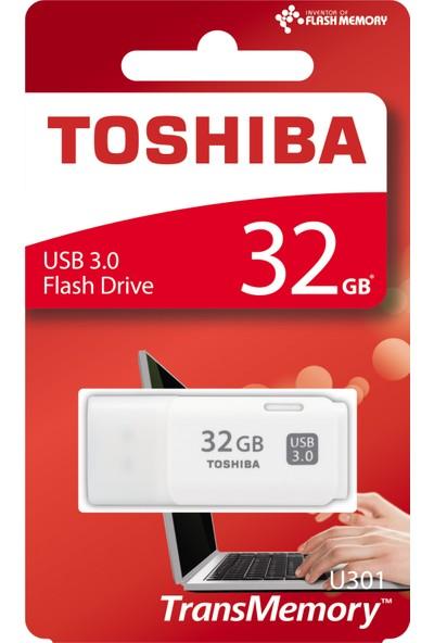 Toshiba Hayabusa 32GB USB 3.0 Beyaz USB Bellek
