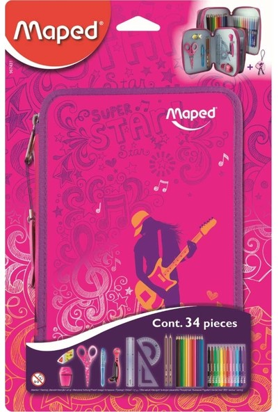 Maped Kalem Kutusu Dolu Dansçılar 967431