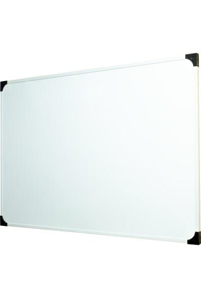 Neon Duvara Monte Beyaz Okul yazı Tahtası 50x70 cm - 1 Adet Tahta Kalemi ve Yazı Tahtası Silgisi