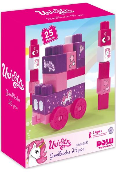 Dolu Unicorn Kutuda Mega Blok 25'li