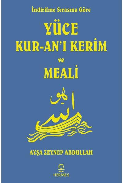Yüce Kur-an'ı Kerim Ve Meali