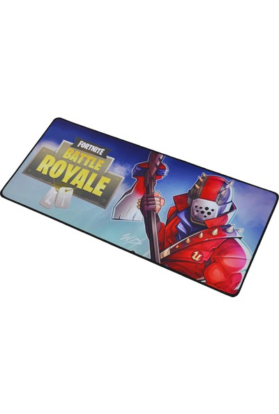 Xrades Fortnite Red Axe XL Gaming Oyuncu Mousepad 70 x 30 cm