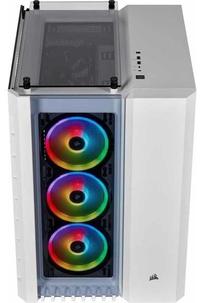 Corsair Crystal 680X RGB High Airflow Temperli Cam Smart ATX Bilgisayar Kasası CC-9011169-WW