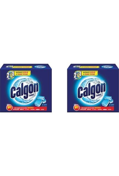 Calgon 2'si 1 Arada Powerball 40X2=80 Tablet Çamaşır Makinesi Deterjanı