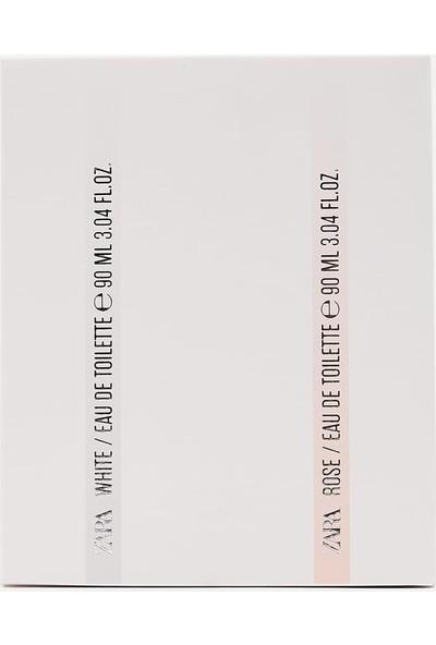 Zara White + Rose Edt 90 ml (3.04 Fl. Oz