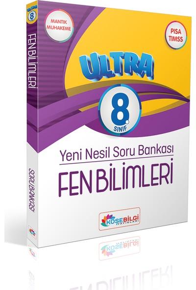 Köşe Bilgi Yayınları Ultra 8. Sınıf Fen Bilimleri Yeni Nesil Soru Bankası